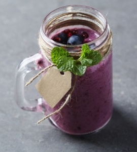 small berry smoothie